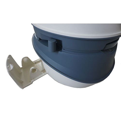 Лоток для туалетной бумаги туалета DeLux